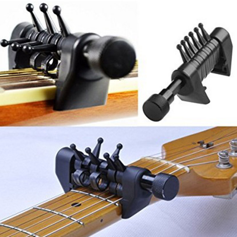 Hot Multifunction Capo Open Tuning Spider Chords for Acoustic Guitar Strings MVI-ing image