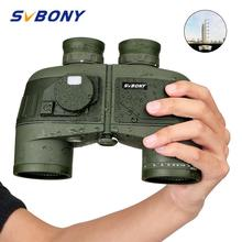 SVBONY 7x50 Military Binoculars w/Internal Rangefinder&Compass Waterproof Floating Marine Powerful Telescope  SV27 F9307 все цены