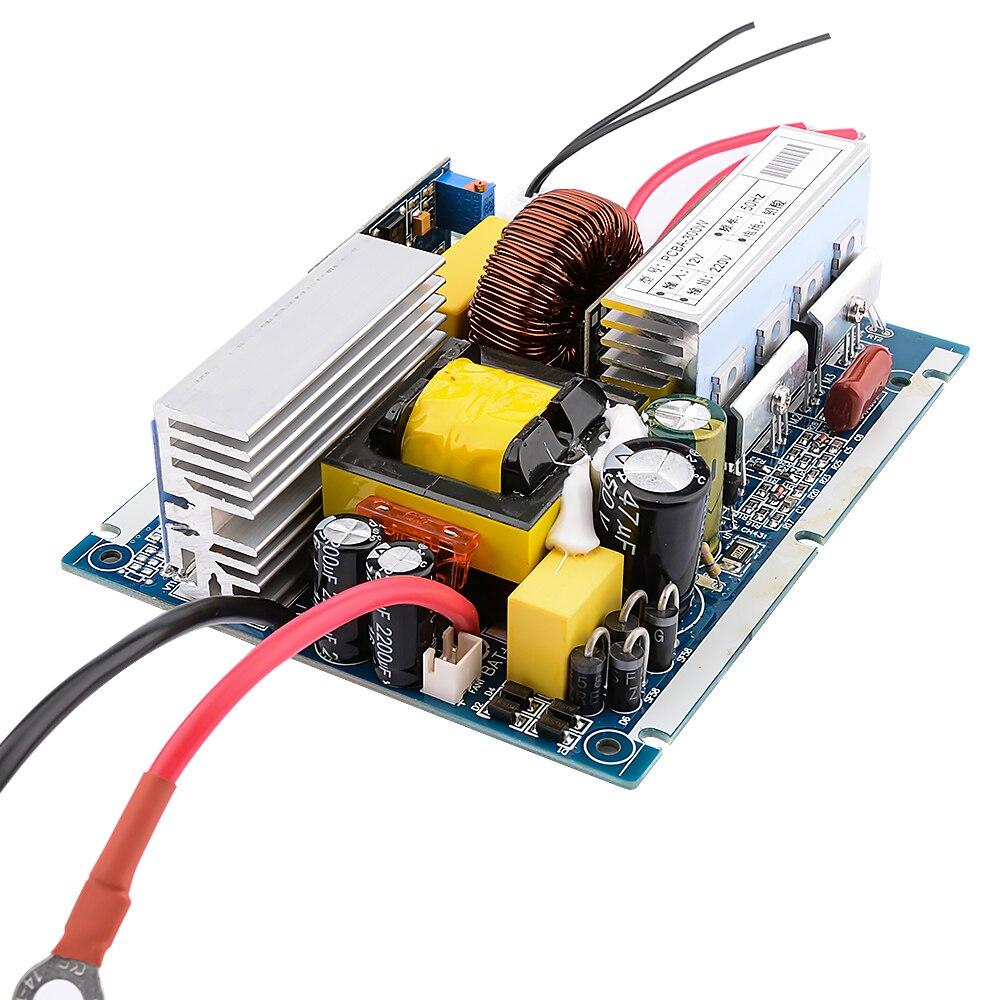 SUNYIMA DC12V 24V AC110/220 V 1000W czysta fala sinusoidalna falownik z transformatorem płyta falownika konwerter mocy samochodu dla gospodarstw domowych DIY
