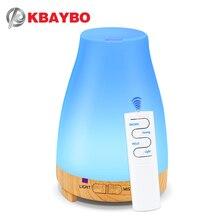 Kbaybo Essentiële Olie Diffuser 200 Ml Aroma Essentiële Olie Cool Mist Luchtbevochtiger 7 Kleuren Led Licht Veranderende Voor Home Office baby