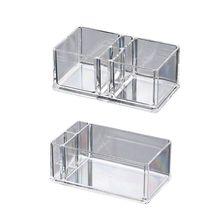 Прозрачный акриловый держатель для коктейльных салфеток, коробка для салфеток, диспенсер для салфеток, органайзер для обеденного стола, домашний декор