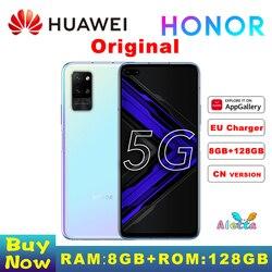 Оригинал, Huawei HONOR Play station 4 Pro 5G смартфон 6,81 inch 8GB RAM 128GB ROM Android 10 функцией отпечатков пальцев (Fingerprint ID), 22,5 W SuperCharge