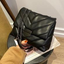 Brand Handbags Crossbody-Bags Shoulder Trend Black Famous Cute Luxury Women Chain Messenger-Bag