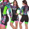 2020 pro equipe triathlon terno feminino camisa de ciclismo skinsuit macacão maillot ciclismo ropa ciclismo manga longa conjunto gel 12