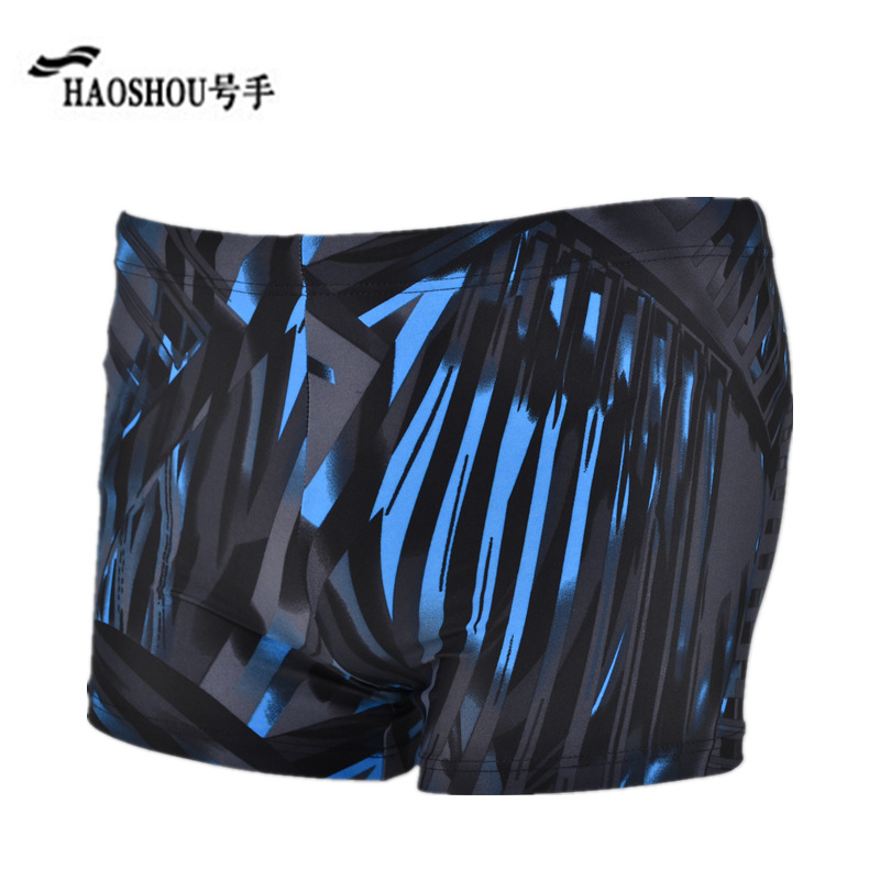 Special Offer HaoShou Swimming Trunks MEN'S Boxers Europe And America Fashion Beach Shorts Adult Leveling Feet Hot Springs Swimm