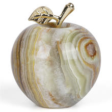 1 шт натуральный кристалл мраморный яблоко минеральное ювелирное