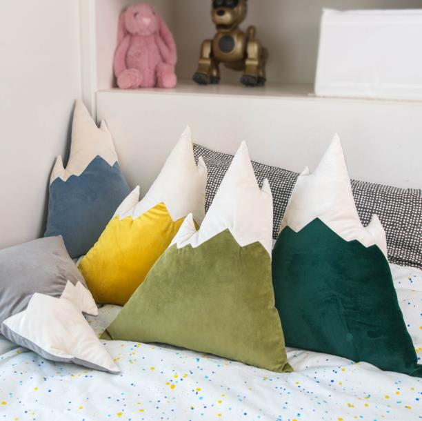 do miúdo travesseiro decoração do quarto do