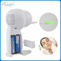 Elektryczny sejf do czyszczenia uszu bezbolesne bezprzewodowy ucha odkurzacz Curette Remover Earpick opieki zdrowotnej wosk do uszu narzędzie do usuwania