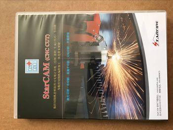 STARCAM CNC Plasma Cutting machine nesting software ENGLISH Language no size limit