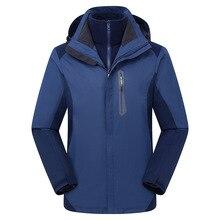 Windproof Clothes Ski Equipment Suit Overalls Men Snowboard Jacket Puffer Coat Ski Costume Ropa Nieve Protective Gear BJ50HX