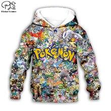 Kids Cloth Pokemon  Pikachu Cartoon 3d hoodies/tshirt/boy sweatshirt Hot Movie pant style-7
