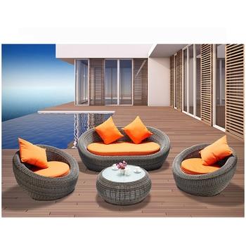Woven Sofas Chairs Modern Balcony Wicker 2