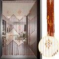 Деревянные шторы  90x175 см  38 волн/90x195 см  36 линий  ручной работы  ширма  разделительный Декор