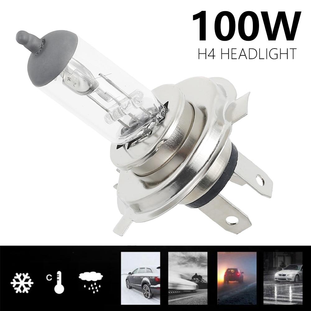 2pcs H4 Super Bright White Fog Halogen Bulb 55/100W Car Head Lamp Light car styling source parking DRL led headlights h4