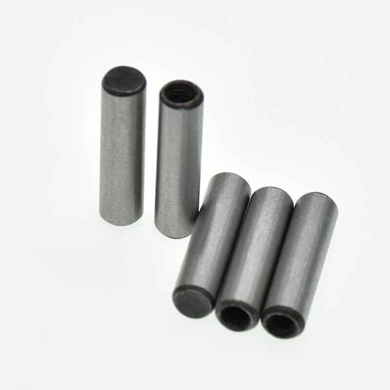 10pcs M5*(16/20/25/30/35/40)mm DIN7979  Parallel Pins With Internal Thread 45# Steel GB120