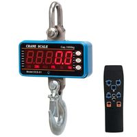 1000kg/2000lb Hanging Scale Digital Industrial Heavy Duty Crane Scale Smart High Accuracy Electronic