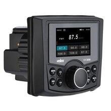 جهاز استقبال استريو بحري للوسائط الرقمية مقاوم للماء مزود بتقنية البلوتوث مع مشغل الصوت/الفيديو DAB + AM FM قارب تشغيل الموسيقى UTV ATV Spa