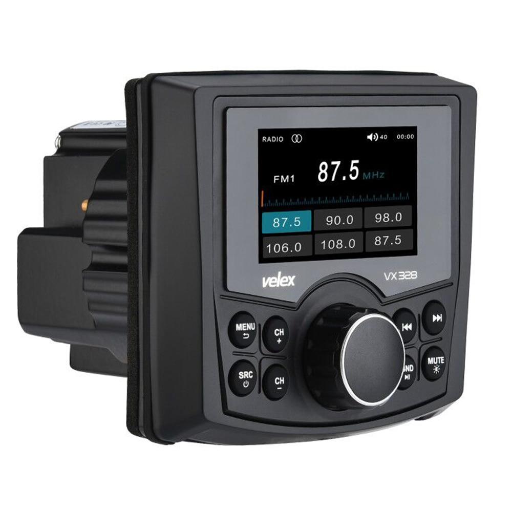 Bluetooth étanche Médias Numériques Stéréo Marin Récepteur Audio/lecteur Vidéo DAB + AM FM Streaming Musique Bateau UTV ATV Spa