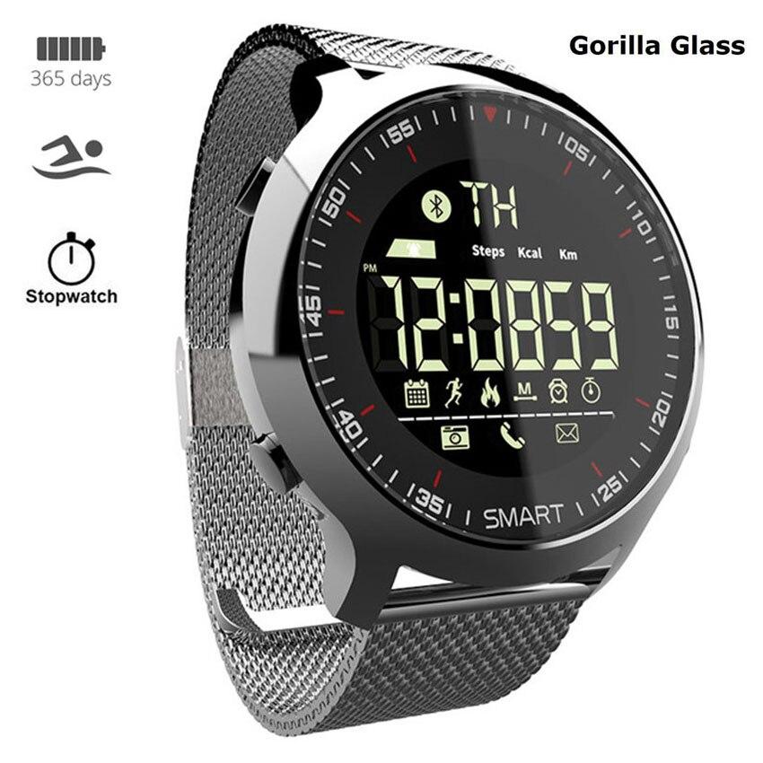 Luxury Steel Smart Watch Men Women Relogio Inteligente IP68 Dive For Apple/Lenovo/xiaomi/Huawei PK Smartwatch X/L8/B57 Not