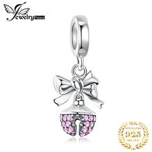 JewelryPalace колокол 925 стерлингового серебра бусины шармов Fit браслет Оригинал оригинальная бусина для изготовления ювелирных изделий