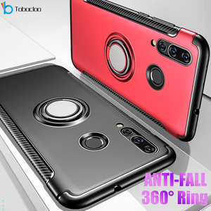 For Huawei Honor 10 Lite 10i Honor10 i View V10 V 10 Case Metal Ring Car Heavy Duty PC + Silicone TPU Silicone Holder Stand Case(China)