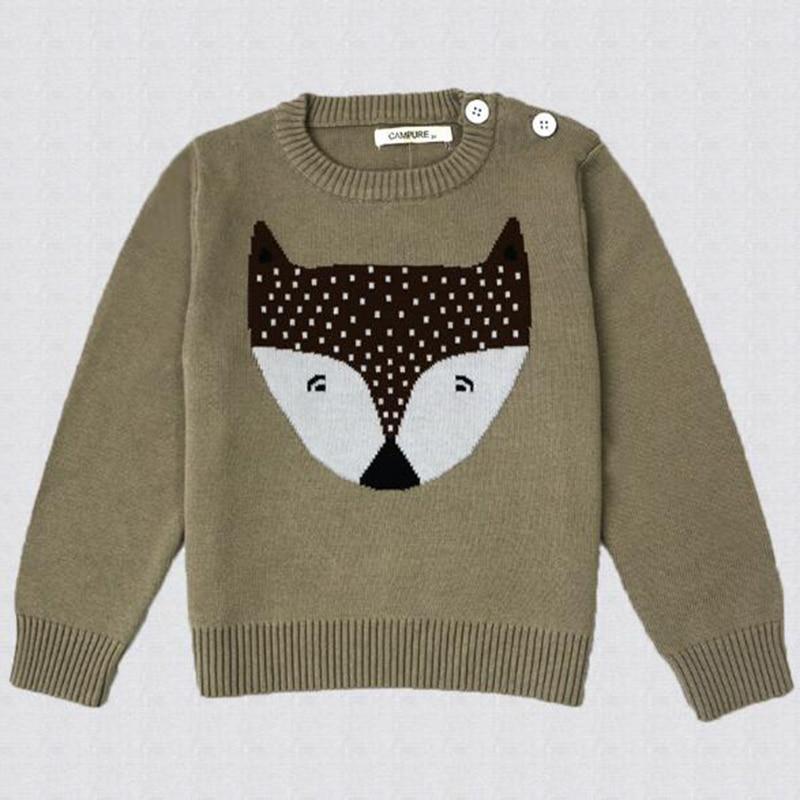 1-6Yrs New 2020 Boy Girl Long Sleeve Loving Heart Knitted Sweater Autumn Winter Boys Girls Sweaters For Baby Girls Kids Sweater 23