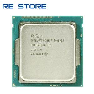 Image 1 - 인텔 코어 i5 4590S i5 4590 s 3.0 ghz 쿼드 코어 6 m 65 w lga 1150 cpu 프로세서