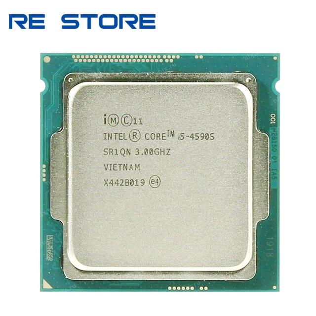 인텔 코어 i5 4590S i5 4590 s 3.0 ghz 쿼드 코어 6 m 65 w lga 1150 cpu 프로세서