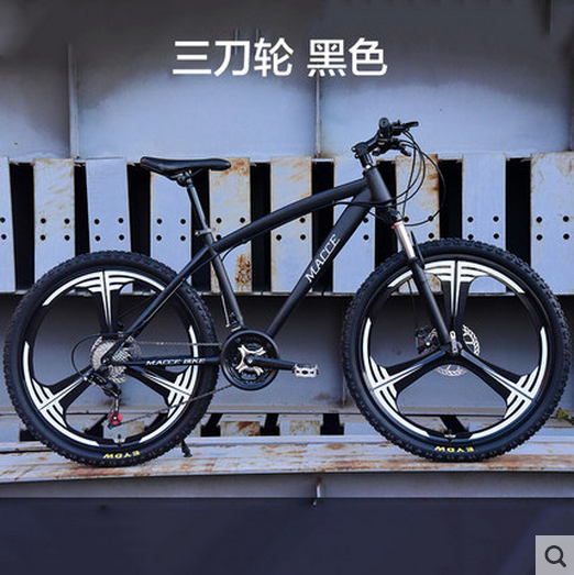 New X-Front brand 21/24/27 speed 26*17 inch carbon steel mountain bike outdoor sports downhill bicicleta MTB disc brake bicycle image