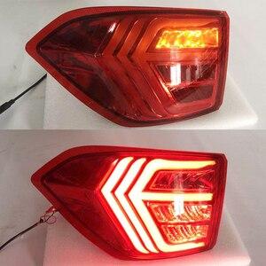 Image 5 - 2PCSไฟท้ายLEDสำหรับFord Ecosport 2013   2018 2019รถLEDกันชนด้านหลังไฟเบรคLED autoหลอดไฟตกแต่งโคมไฟ