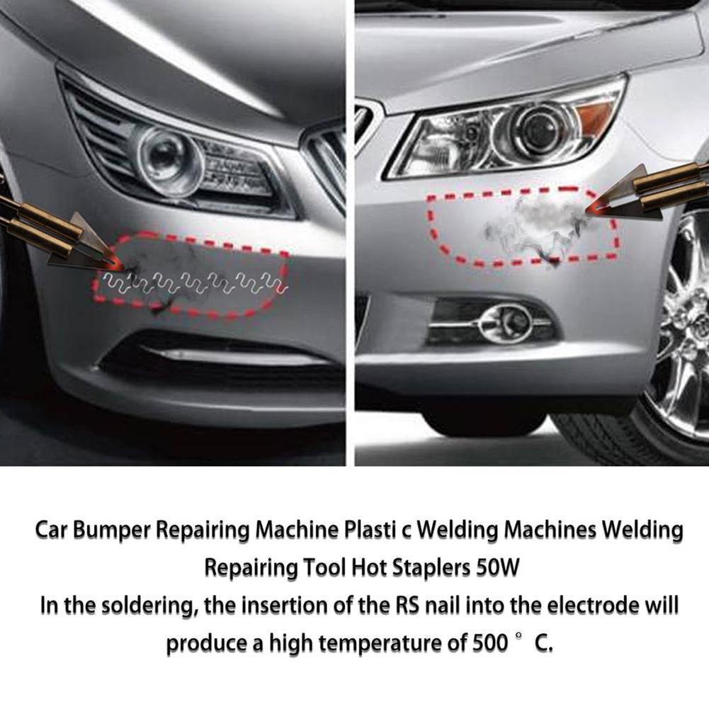 Car Plastic Bumper Repair Tool Parts Welding Fuser Welding Bumper Collision Repair Gun Tool L7L8