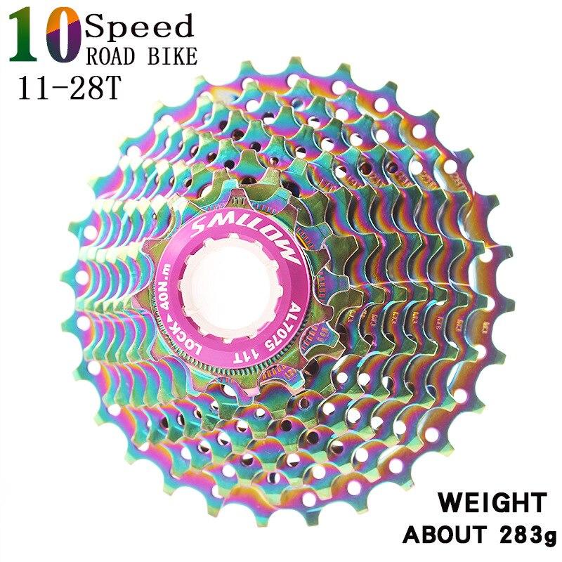 Купить smllow mtb красочные кассета 10 скорость 11 12 13 15 17 19 21
