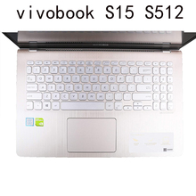 Keyboard-Skin-Cover Asus Vivobook Silicone Compatible for S15/S512/S530ua/S530u