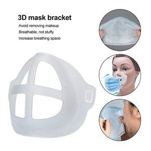 Bracket Mask 5PCS 3D Face Mask bracket internal Mouth Separate Inner Stand Holder Space Mascarilla Face Mask Washable Breathing