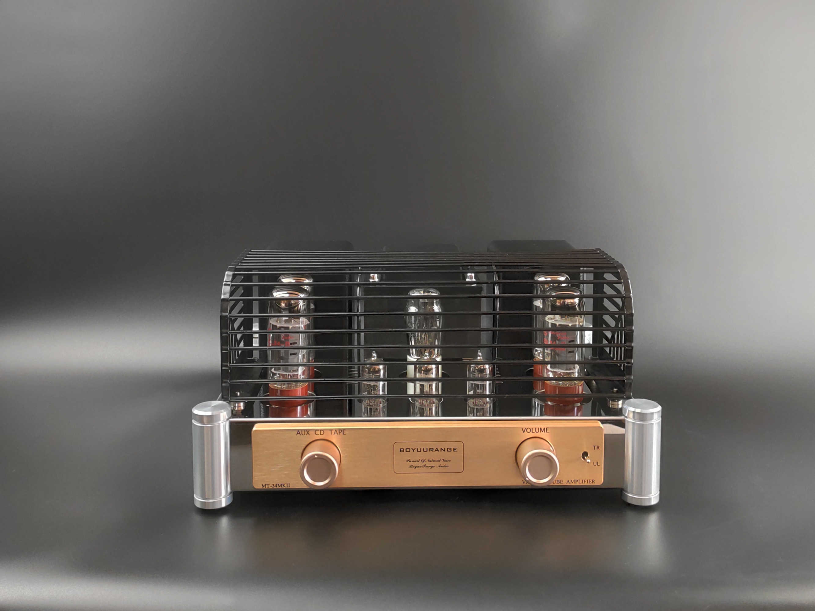 Reisong Boyuu MT-34 MKII EL34 Vacuum Tube Integrated Amplifier Push-Pull Hi-fi Audio Amplifier Tabung