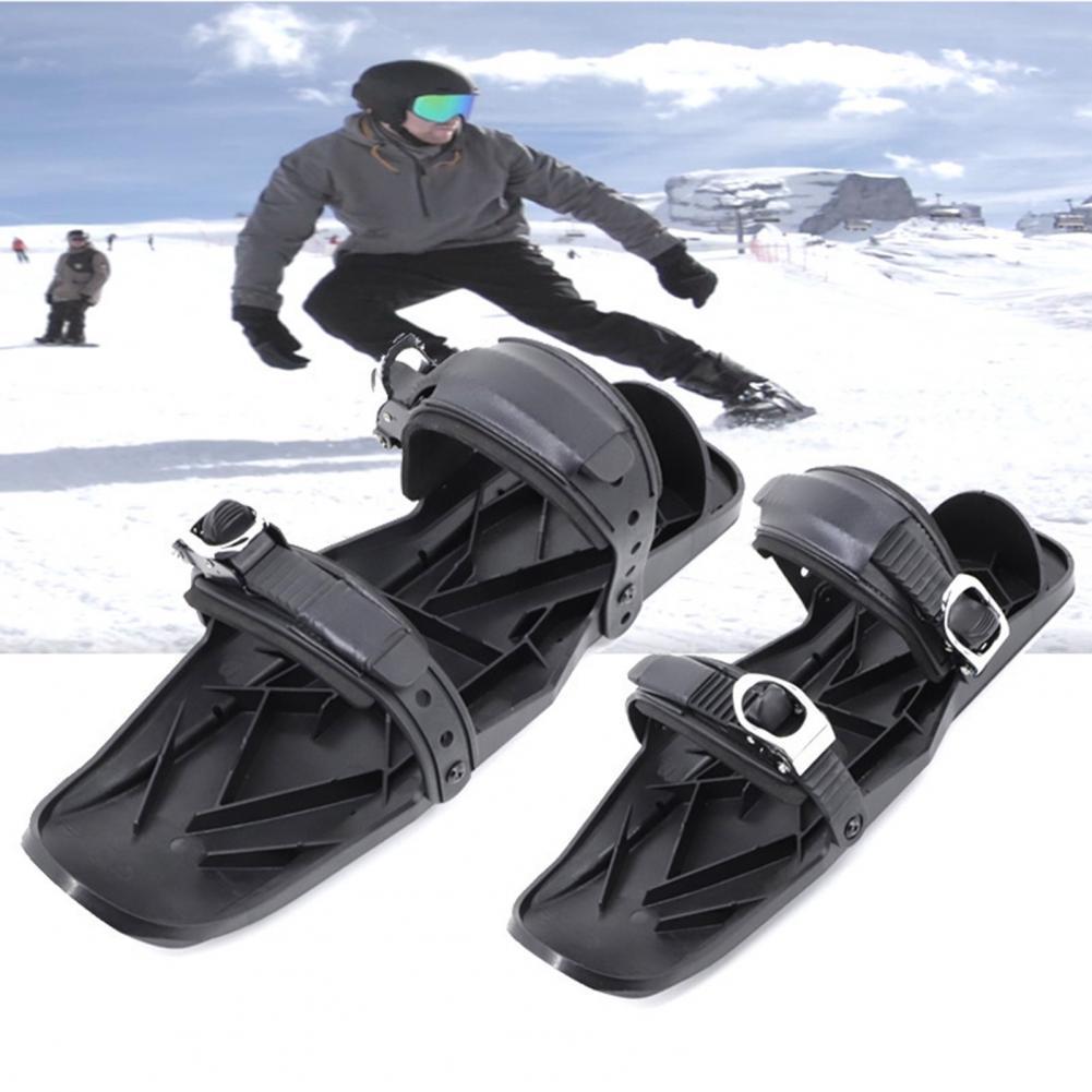 Ajustável mini botas de esqui inverno ao