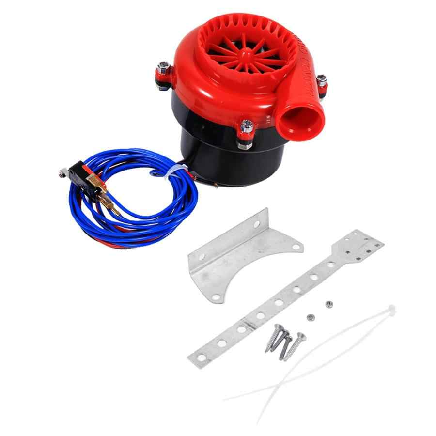 Oversea Car Electronic Fake Dump Turbo Blow Off Hooter Valve Analog Sound BOV Simulator Kit ABS Plastic