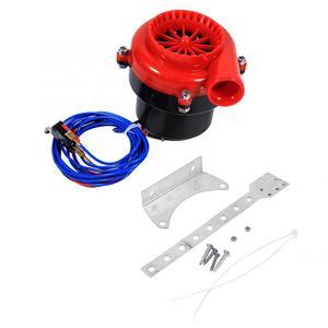 Image 1 - Зарубежный Автомобильный Электронный поддельный Dump Турбокомпрессор, выдувный клапан с гудком, аналоговый звук, комплект для симулятор BOV, АБС пластик