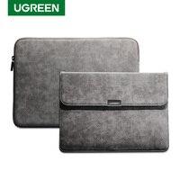 Ugreen Laptop Tasche Leder Notebook Tasche Fall Abdeckung Für Macbook Air Macbook Pro 13 Fall Laptop Funda iPad Pro Air hülse Fall
