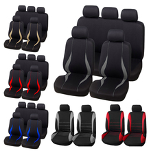 AUTOYOUTH Car Seat Covers Interior Accessories Airbag Compatible  Seat Cover For Toyota Camry Volkswagen Gray Car Seat Protector