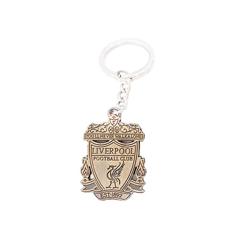 Liverpool Soccer Team Football Club Logo Metal Pendant Keyring Keychain Team Crest,Perfect Gifts