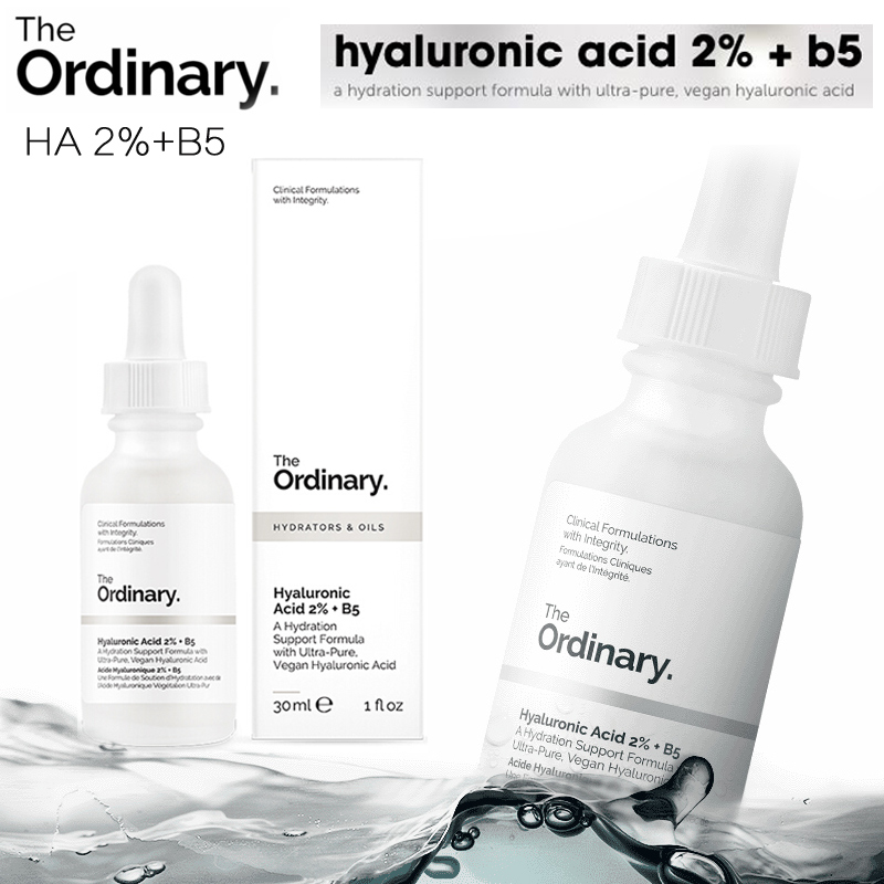 The Ordinary Hyaluronic Acid 2% + B5 Hydration Support Formula 30ml Face Hydrating Anti aging Serum image