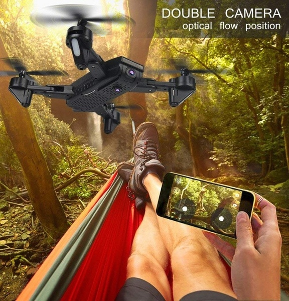 SG700-S Drone 2 4Ghz 4CH Wide-angle WiFi 4K Optical Flow Dual Camera RC Helicopter RC Quadcopter Selfie Drone with Camera HD