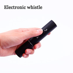 Professionele Oplaadbare Elektronische Whistle Blow Gratis Survival Voetbal Basketbal Scheidsrechter Fluitje