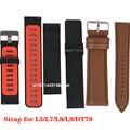 DT78 L5 L8 L7 L9 L11 smartwatch silikon strap metall strap lether gurt für smart watch kostenloser versand-in Cleveres Zubehör aus Verbraucherelektronik bei