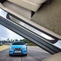 Для автомобильных аксессуаров Qashqai J11 Накладка на порог Накладка на педаль Накладка на порог Защитная пленка для авто Стайлинг 2018 2013 2015 2020