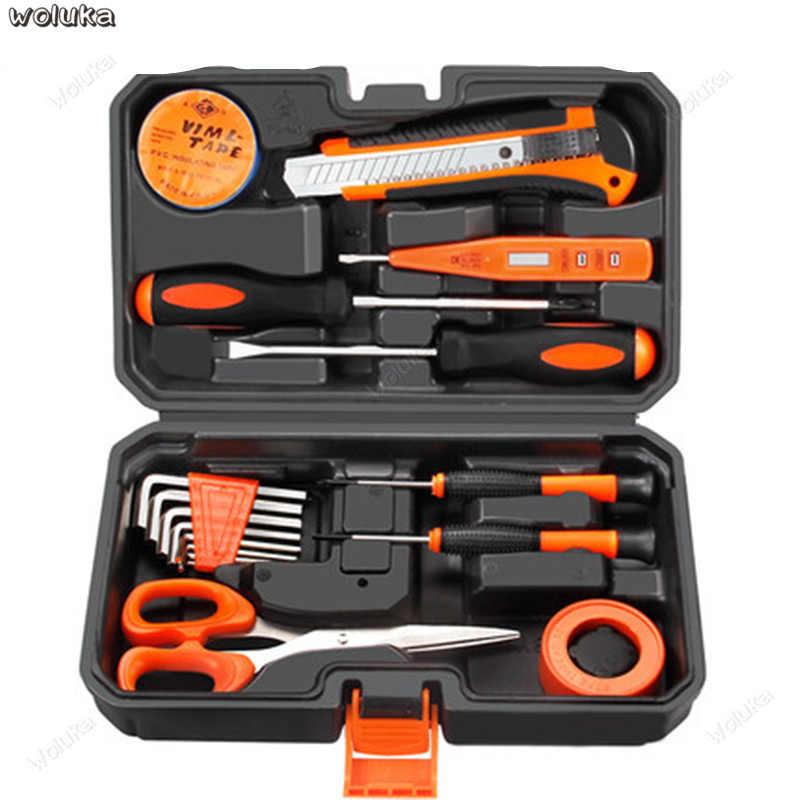 家庭用ツールボックス多機能マニュアルハードウェア電気技師木工ツールセット特別なメンテナンスレンチセット CD50 Q04