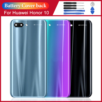 For Huawei Honor 10 back battery cover, for Huawei Honor 10 back battery cover + camera lens case replacement front back cover replacement for symbol mc65 mc659b