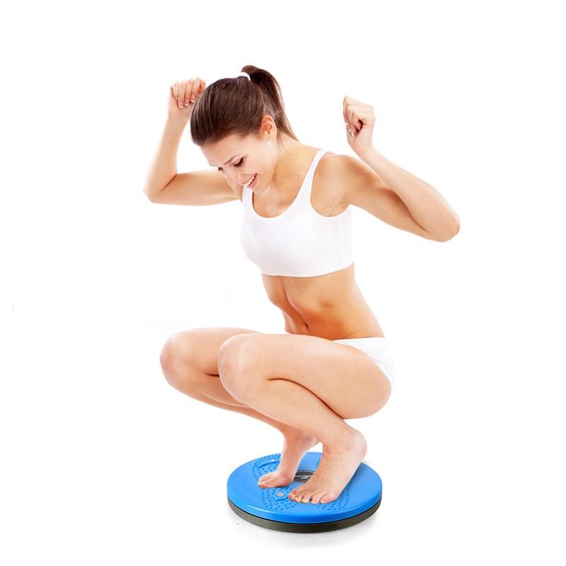 Fitness Wriggled Plate Thin Waist Slimming Machine Women's Dance Machine Belly Control Sports Equipment Household Fitness Waist
