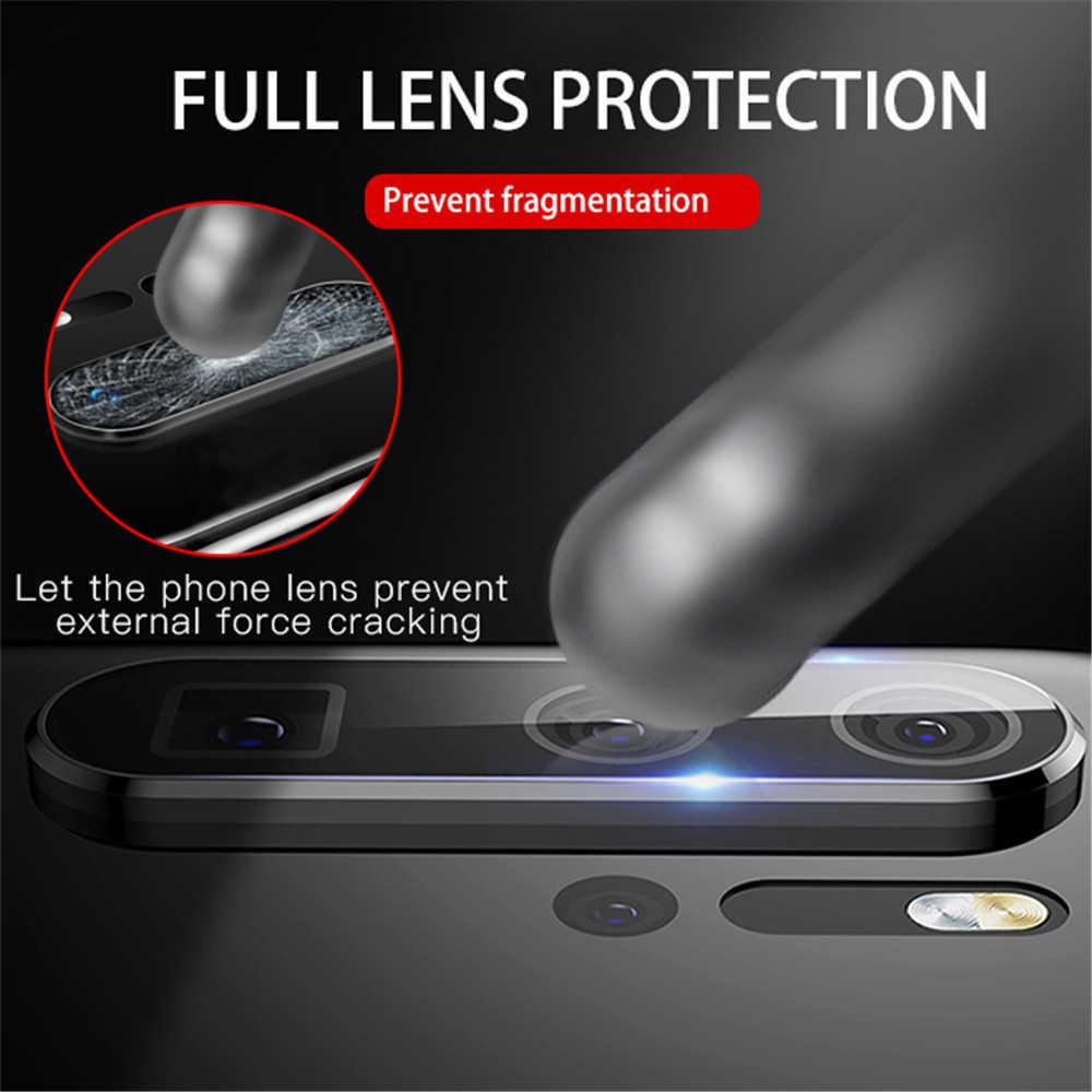 كاميرا حامي الزجاج لهواوي P20 P30 ماتي 30 20 برو الزجاج المقسى + كاميرا خلفية معدنية عدسة حلقة واقية ل نوفا 5 5i